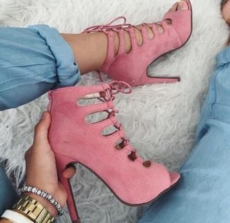 shoes baddies insta baddie pink heels