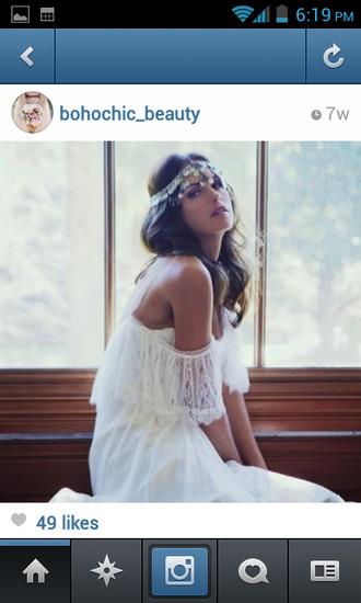 dress boho bohemian hippie bohemian dress wedding clothes wedding dress fringes boho dress hipster wedding