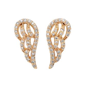 jewels earrings fashion gold gold earrings angel wing earrings angel wings