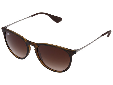 Ray-Ban Erika  Rubberized Havana - Zappos.com Free Shipping BOTH Ways