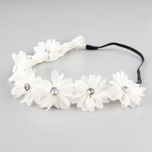FULL TILT Chiffon Flower Headband - Polyvore