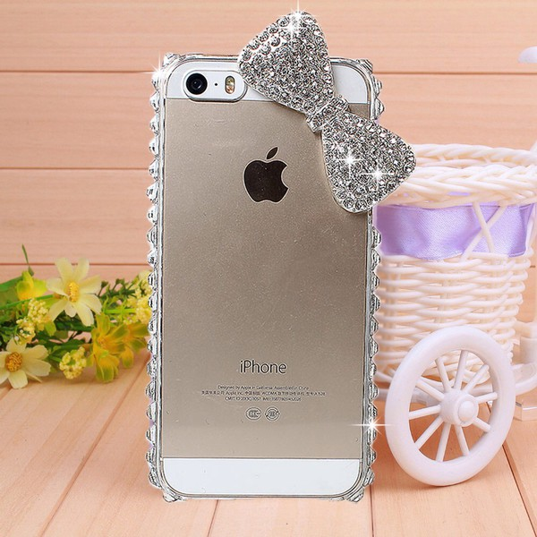 phone cover phone cover iphone phone silver sparkle girl glitter ...