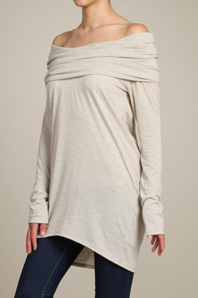 Long sleeve convertible tunic – betsy boo's boutique