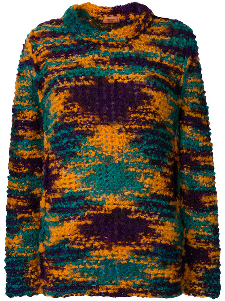 Missoni jumper women mohair wool sweater
