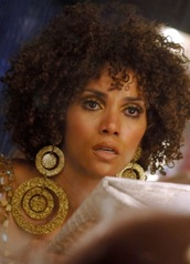 jewels,halle berry,earrings,curly hair