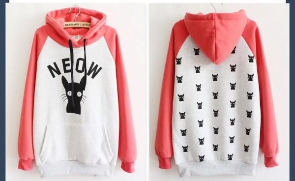 cats neow hoodie bernard lafond sweater