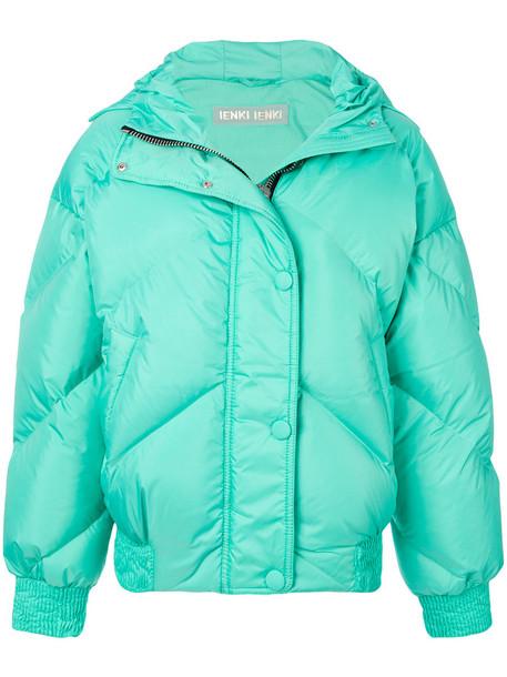 Ienki Ienki jacket puffer jacket women spandex cotton green