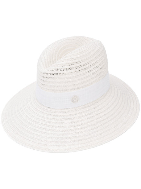 Maison Michel Virginie hat - White