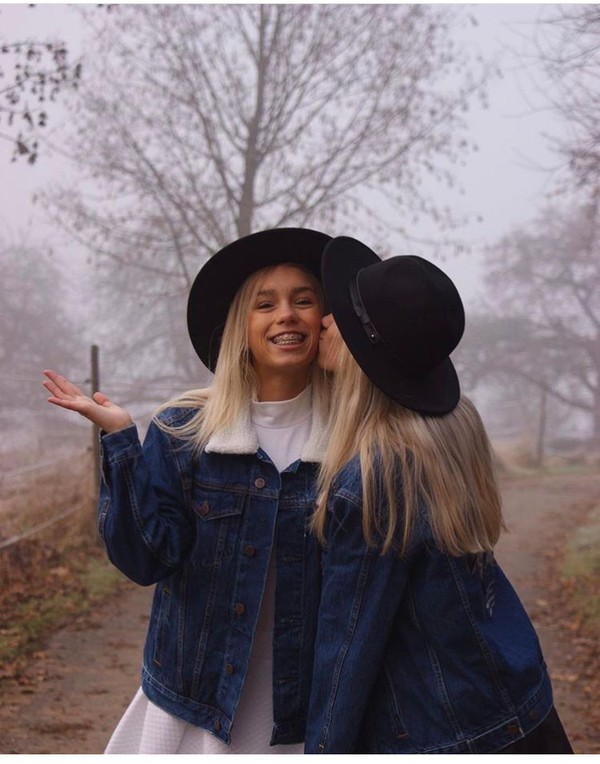 hat lisa and lena lisaandlena black need