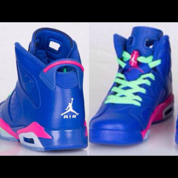 blue jordans celebrity shoes