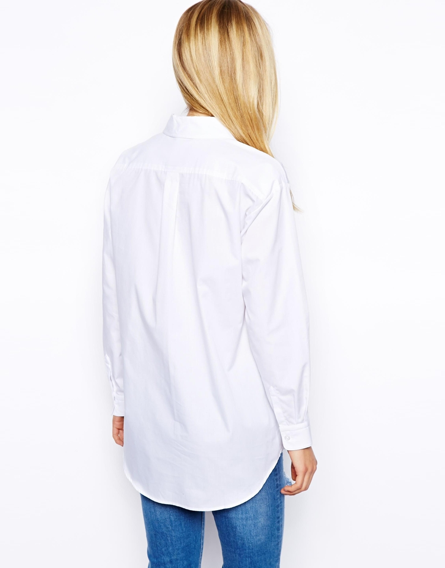 ASOS Boyfriend Shirt at asos.com