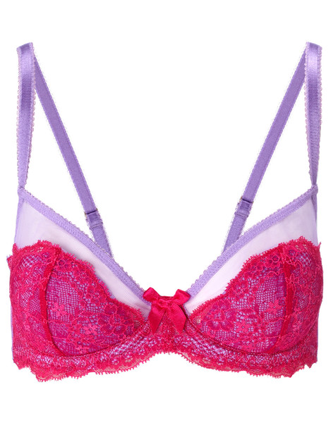 L'Agent bra lace pink underwear
