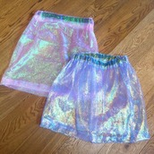 skirt,shiny,holographic,retro,grunge,cyber,cyber ghetto,seapunk,ghetto,sheer,transparent,see through,sparkle,dressy,kawaii,cute skirt,style,skater skirt