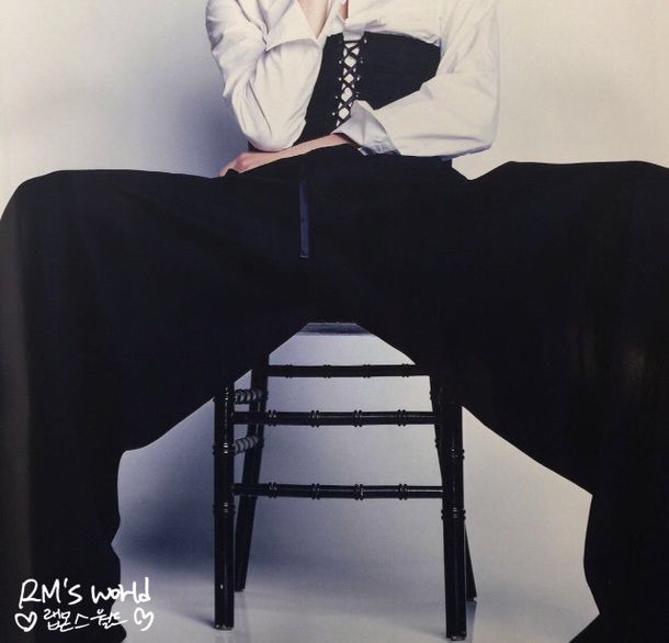pants black bts rap monster