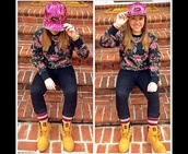 hat,pink,huf,snapback,jordans,air jordan,dope,trill,hot pink,shirt