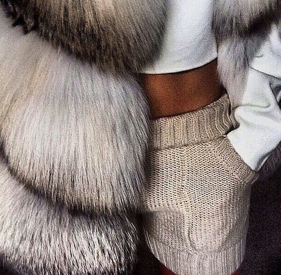 wool warm blouse