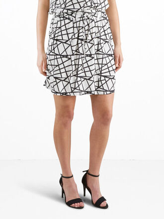 skirt mini skirt geometric