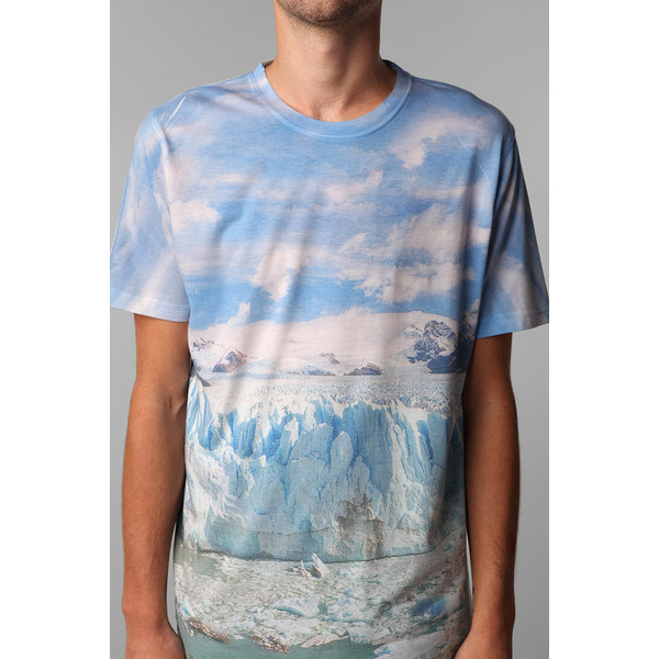 FUN Artists Allover Glacier Tee - Polyvore
