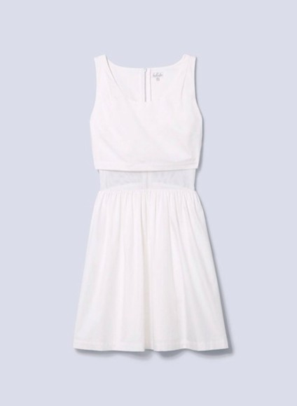 dress cute white dress summer dress