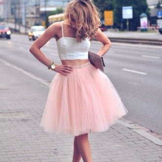 tank top white pretty dress white dress white crop tops pink dress pink pink skirt lovely dress lovely summer outfits all cute outfits cute outfits girly outfits tumblr cute summer outfits cute  outfits skirt vintage girly jacket