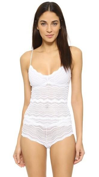 camisole long white underwear