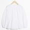 & other stories | puff sleeve peplum blouse | white