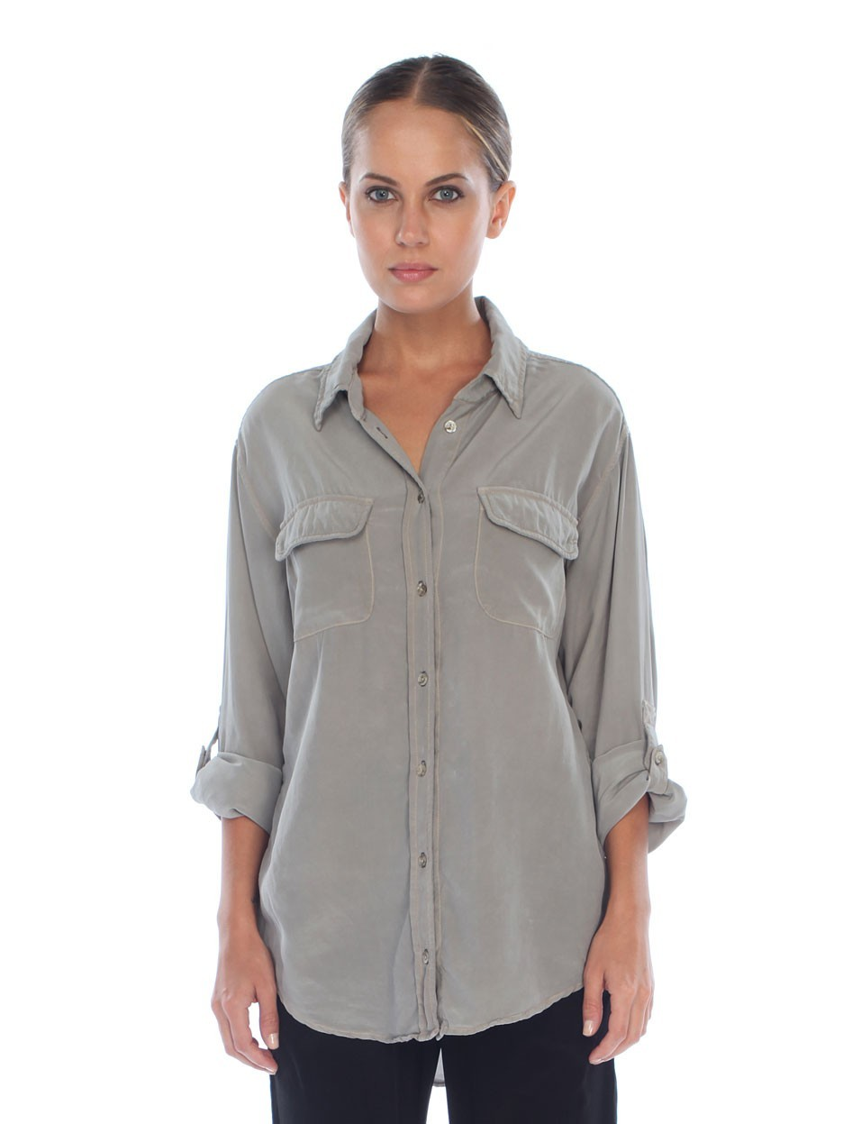 Shop the Women's Silk Button-Up Shirt at urgut.ga and see the entire selection of Women's Tops. Free Shipping Available.