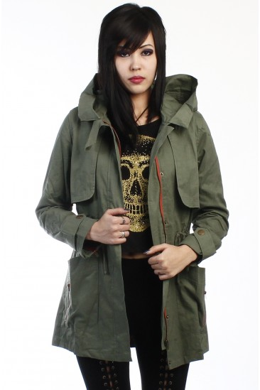 LoveMelrose.com From Harry & Molly | military jacket