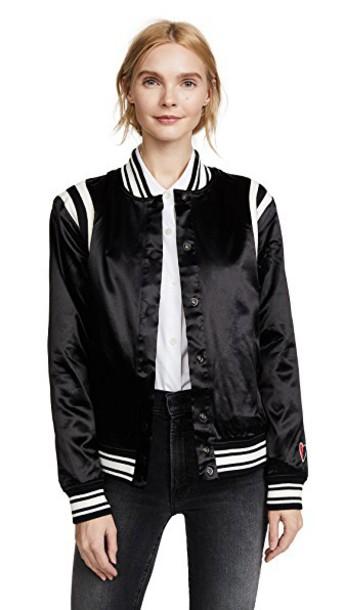 Scotch & Soda/Maison Scotch jacket bomber jacket black