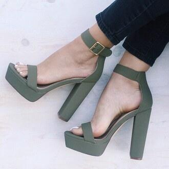shoes gojane green