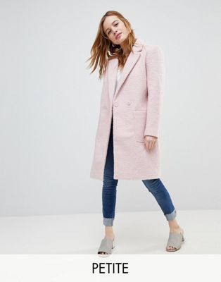 New Look Petite Tailored Coat at asos.com