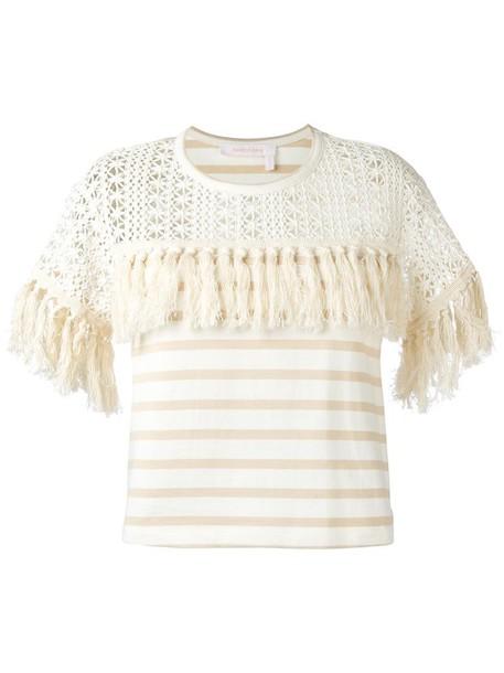 t-shirt shirt t-shirt women nude cotton top