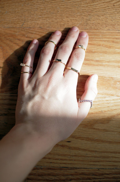 jewels ring blogger de lune knuckle ring