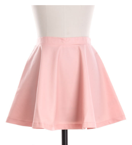 Leather Skater skirt –  Accentu Fashions