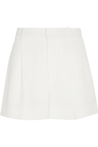 shorts pleated white off-white