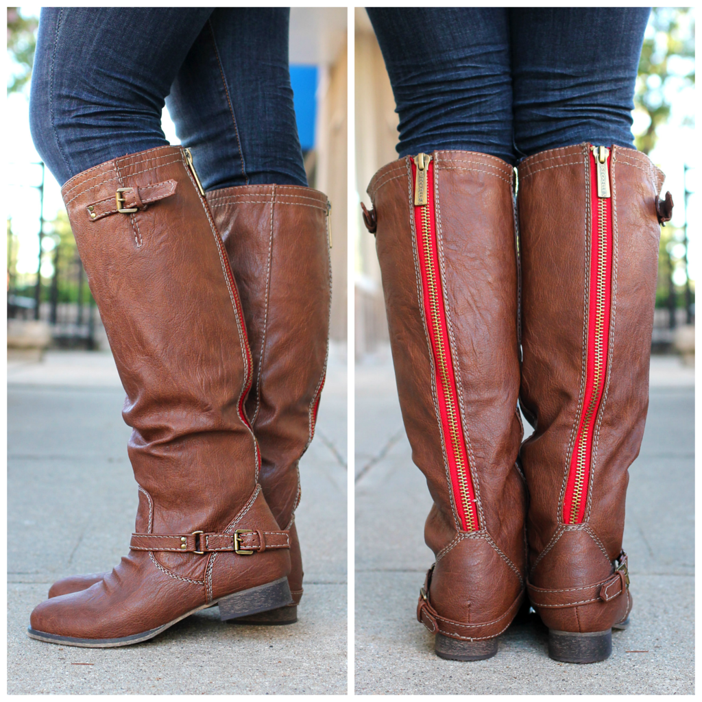 Tan Riding Boot Outlaw-81 | uoionline.com: Women's Clothing Boutique