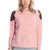ROMWE | ROMWE Rivets Embellished Pink Jumper, The Latest Street Fashion