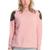ROMWE | ROMWE Rivets Embellished Pink Jumper, The Latest Street Fashion