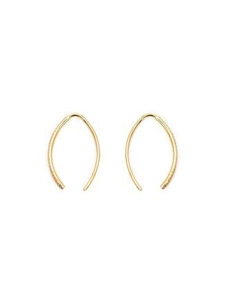 earrings pendant yellow orange jewels