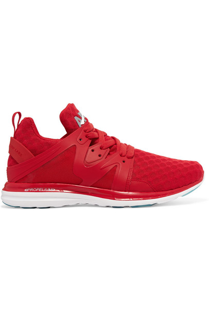 athletic propulsion labs mesh sneakers red shoes