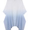 Trendy vintage gradient irregular hem cardigan for women - newchic