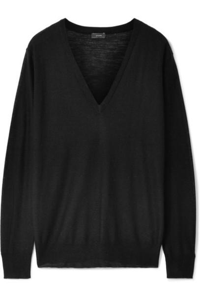 Joseph sweater black