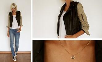 black jacket brown jacket jacket