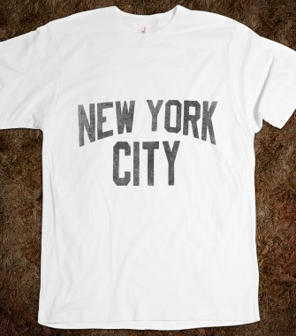 Vintage new york city t shirt funny vintage t shirts at for New york custom t shirts