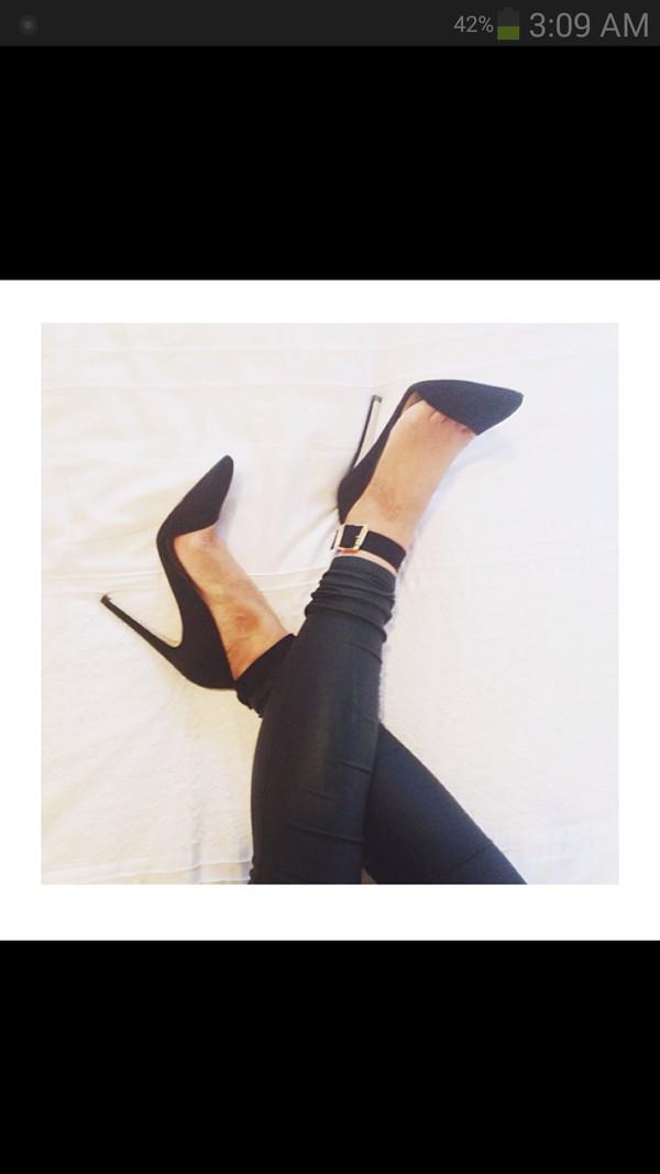 shoes black  high heels strap black heels cute high heels flawless style sexy shoes heels high heels badass sweet girly nice blouse sweater cute