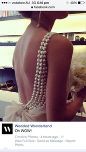 dress,perls pink bow dress,pearl,open back dresses,bow dress,formal dress,party dress