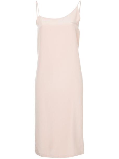 dress wrap dress women silk purple pink
