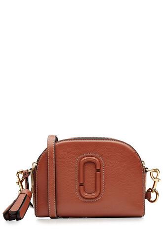 bag shoulder bag leather orange