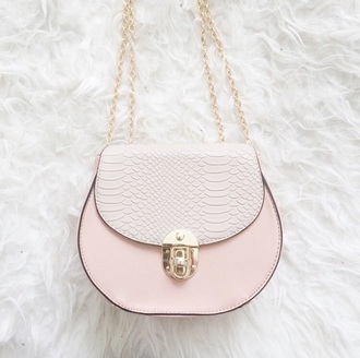 bag white bag pink bag crossbody bag bags and purses accessories
