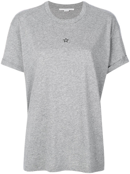 t-shirt shirt t-shirt women cotton grey top